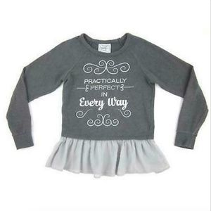 Disney Parks Boutique Shirt Small Kids Gray New